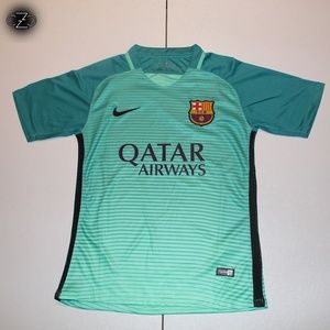 ♦️Authentic Nike FC Barcelona Soccer Jersey